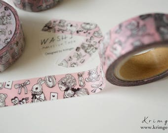 ONE Masking Tape -Alice's Adventures in Wonderland- Designed by Krimgen