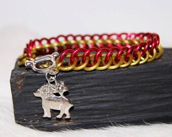 HP 3 Zodiac charm bracelet