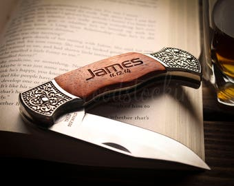 Personalized Pocket Knife Engraved Pocket Knife Personalized Knives for Groomsmen Custom Engraved Knife Knifes Custom Knife Monogram Knife
