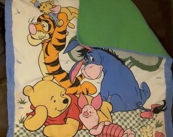 Handmade Winnie the Pooh Baby Blanket