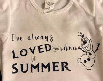 Olaf summer shirt