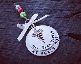 Doctor's Christmas Ornament | Medical Ornament | Gift For Doctor | Medical School Graduation Gift | New Doctor Gift | MD Ornament | Keepsake