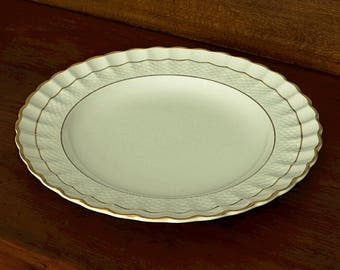copeland spode imperial du0027or dinner plate ivory china