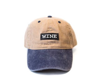 WINE baseball cap
