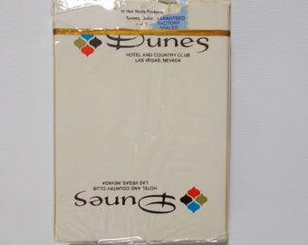Dunes Hotel And Country Club Playing Cards Las Vegas Casino Vintage Used Card Deck Closed In 1993