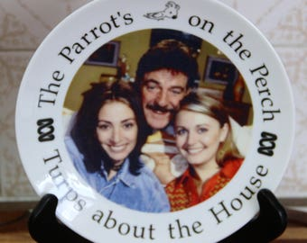 Turps About the House Plate from the HG Nelson and Roy Slaven ABC TV show Club Buggery.