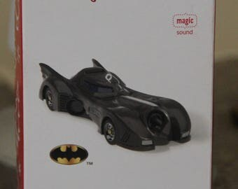 Batmobile Batman Hallmark Keepsake Ornament NEW never been used with batteries