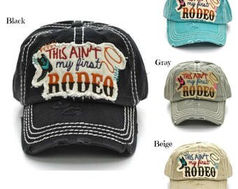 This Ain't My First Rodeo Vintage Hats