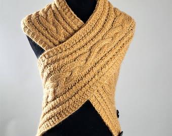 Brown  Scarf,Winter Scarf,Warm Scarf,Grey Scarf, ,Hand Knitted Scarf,Wool Scarf,Scarf For Women,Scarves,Handmade Scarf,Handmade Scarves