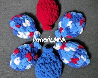 Crochet Reusable 'Water Balloons' - Set of 6