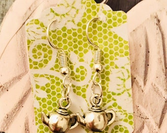 Little Teapot Earrings
