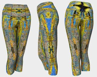 09397 Yoga Capri: Under the Bridge Photography. Yoga Leggings, Yoga Pants, Yoga Tights, Running Tights, Leggings