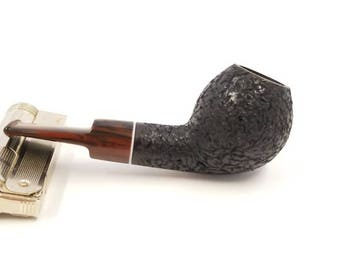 Black Devils Anse Briar tobacco pipe, smoking pipe, handmade pipe, James Davis Pipes, wood tobacco pipe, poker pipe, Dublin tobacco pipe