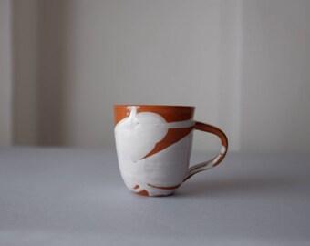 Ceramic Mug, Coffee Lover Mug, Handmade Pottery Mug, Modern Pottery, Italian Pottery, Terracotta Pottery, Cocoa Mug, Coffee Lover Gift,