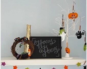 Hocus Pocus Halloween foamboard decoration