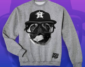 Astro Pug Sweat shirt