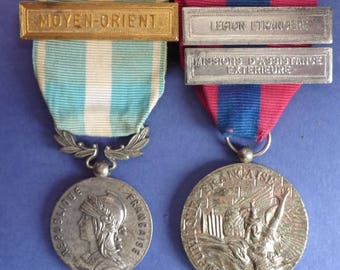 Original French Foreign Legion Medal Group.