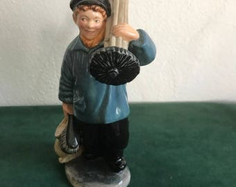 "Royal Doulton Figurine No. 2205 Titled ""Master Sweep"""
