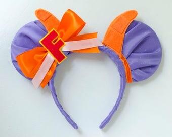 Figment Inspired Mickey Mouse Ear Headband