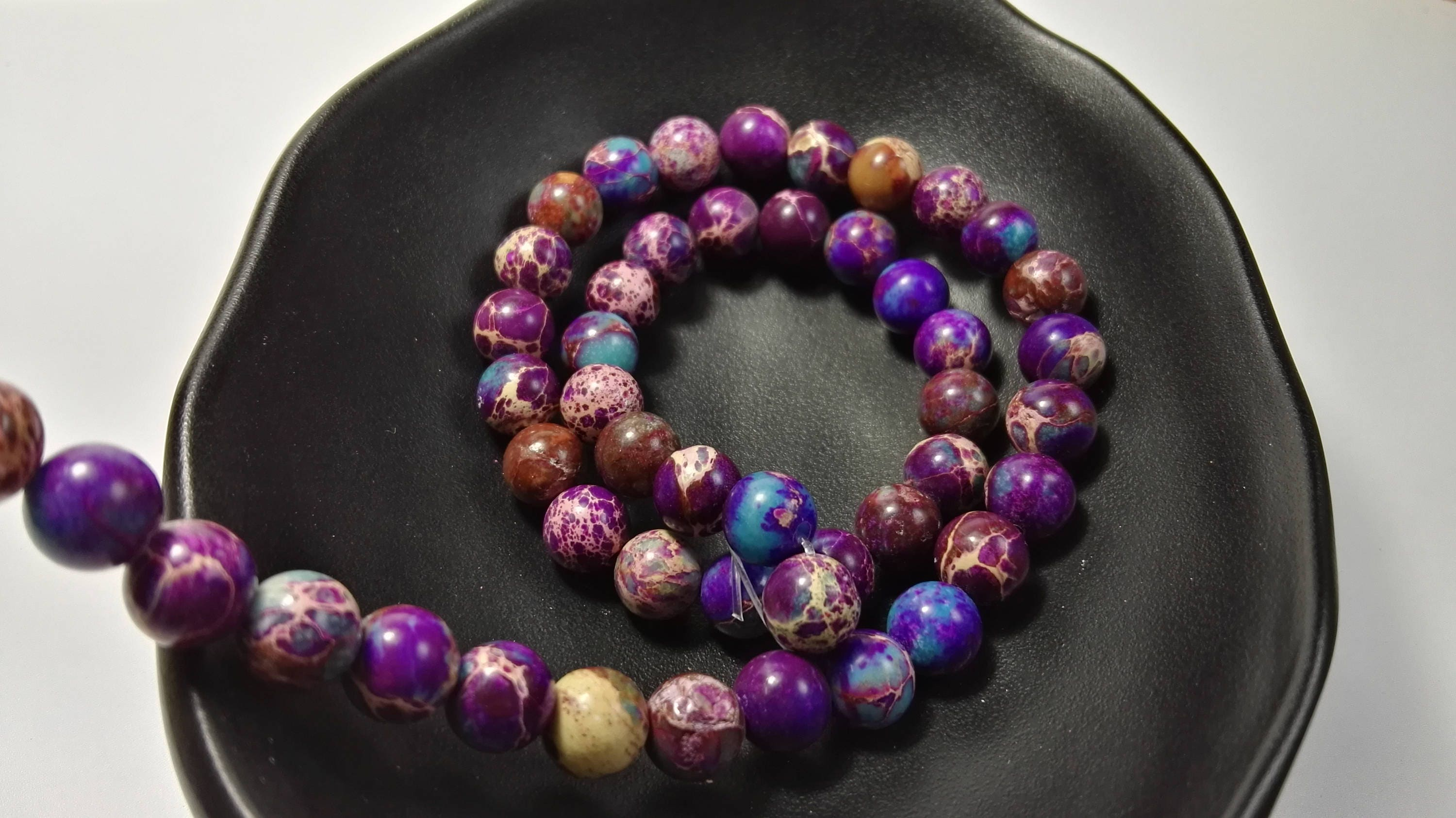 pin by and jewelry etsy gemstone jade purple findings wholesale on bead faceted beads station