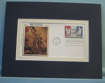 The 200th Anniversary of the French Revolution and the First Day Cover of its own stamp