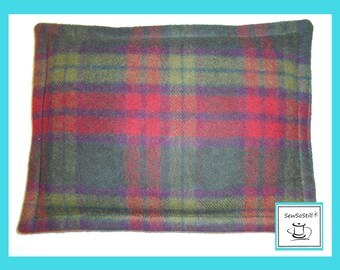 Rice Heating Pad, Heat Therapy Rice Bag,  Microwave Heating Pad, Rice Heat Pad, Spot Heat, Sunny Heat Pack, Pick a Plaid Flannel