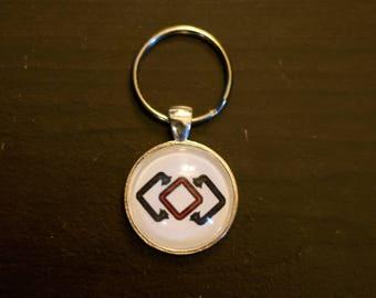Garlemald--Final Fantasy XIV Inspired Keychain