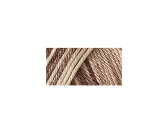 Coffee Latte Brown Caron Simply Soft Ombres Yarn (Pre-Order)