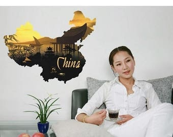 20% OFF Summer Sale China wall decal sticker, deco, mural, vinyl wall art