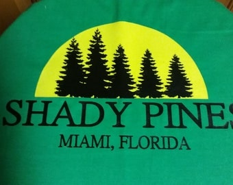 Shady Pines Shirt! Sz S-XL! Made to Order! NEW!!