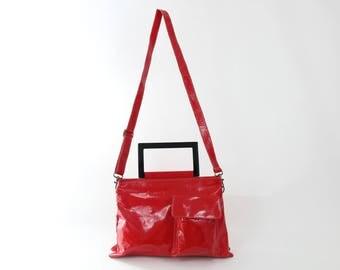 Red Leather Bag, Women Handbag, Laptop Bag, Leather Handbag, Shoulder Bag, Messenger Bag, Trending Bag, Handmade Leather Bag, Unique Bag