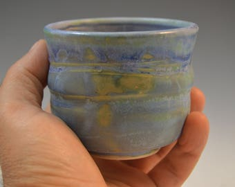 Yunomi, Tea Cup, Guinomi, Sake cup, handmade ceramic tea cup, pottery tea cup, stoneware cup