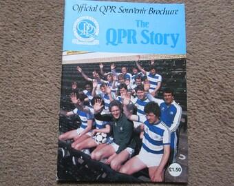 1982 Queens Park Rangers QPR FC Original Official Centenary Football Soccer Supporters Club Handbook Ideal Christmas Birthday Present