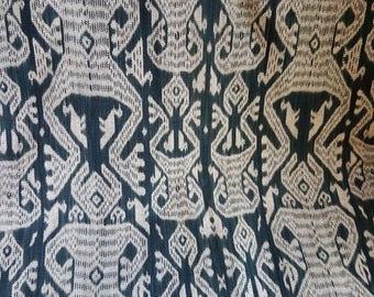 SALE15% West Timor Ikat, authentic Indonesian Ikat, men's cloth, Amanuban, Ikat 190 cm x 108 cm