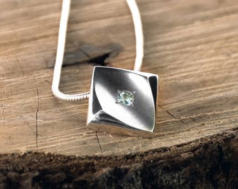 Diamond shaped on a chain