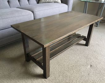 Coffee Table - Solid Oak Hardwood