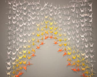 20 Strands- Origami Cranes On String - Party Decor- Home Decor