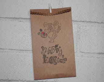 Easter treat bag etsy easter gift bags candy bags treat bags package toppers co workers gift negle Image collections