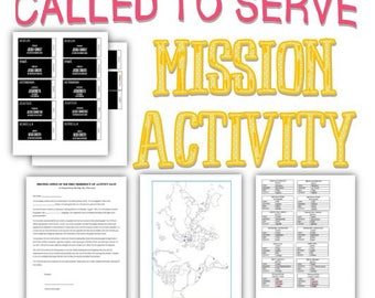 Called to Serve + Mission Subway Art