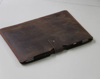 Sleeve Surface Laptop, New Surface Laptop Sleeve, made by Genuine Cow leather