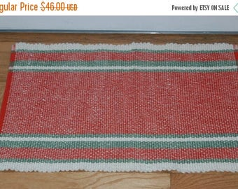 ON SALE Handwoven Rug