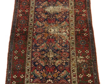 Antique Persian Rug Malayer Runner