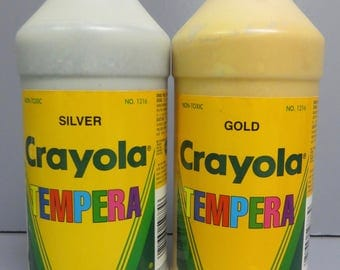 tempera silver&gold