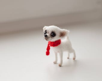 the tiny chihua, made to order 8 days,8 cm tall.