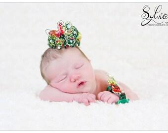 "Crown and ""Little Queen"" Bracelet set"