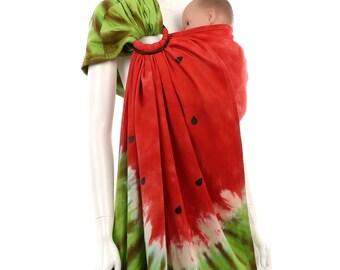 Ring Sling - Daiesu Sandbox Dyed 03 - Woven Baby Wrap - Ring Sling Baby Carrier