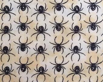 Eerily Elegant Spider Fabric by Deb Strain for Moda Fabrics