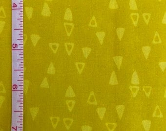 Modern Batiks Yellow Triangles from Studio E