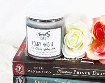 Foggy Knight | 9oz jar | Stalking Jack the Ripper Inspired Soy Candle