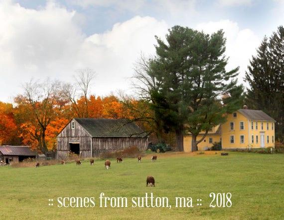2018 Sutton, MA Calendar